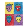 Colorations Self Adhesive Color Wiggly Eyes - Set of 1000