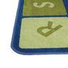 Alphabet Cars Premium Carpet - Woodtones, 8' x 12' Rectangle