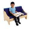 Birch Living Room Sofa - Blue