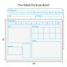 Solving Problems Two-Sided Dry Erase Boards Set