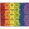 Group Colors Alphabet Rug