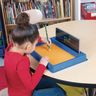 Plastic Sand Tray With Sand And Sight Word Formation Cards