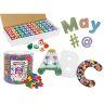 Alphabet kit, 4 Item Art Collection