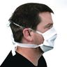 Pleated Face Covering - Tie-Back Size Adult - Case of 25
