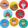 Calendar Stickers - 120 stickers