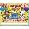Happy Birthday Posters - English and Spanish