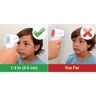 Non-Contact Hygienic Infrared Thermometer