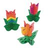 Colorations® Decorate Your Own 3D Wooden Tulip, Set of 12