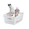 Book Baskets - Medium Rectangle - Set of 12 - White