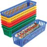 Pencil and Marker Baskets - Set of 8 - Primary