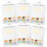 Large Hang-Up Totes  - 6 Pack