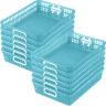 Classroom Paper Baskets - Set of 12 - Water