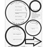 Ready-To-Decorate® Goal Targets - Set of 24