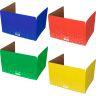 Large Fizz! Privacy Shields™ - Set Of 12 - 4 Group Colors - Matte