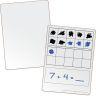 Family Engagement Math Skills - Basic Math Dry Erase Boards
