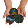 Positive Affirmation Chips - Set of 100 in 50 Unique Designs and Sayings