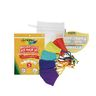 Crayola™ Kids Reusable Cloth Face Mask Set of 5 with Mesh Laundry Bag, Cool Colors