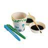Colorations DYO Ceramic Flower Pot
