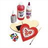 Colorations® Decorate Your Own  Wood Magnetic Hearts, Set of 12