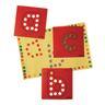 Dabber Dot Stencil Set Lower Case Alphabet, Set of 26