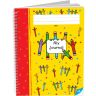 Spiral Draw and Write Journals (Pencil Cover) - 6 Pack