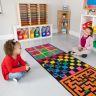 Indoor Recess Rug With Manipulatives