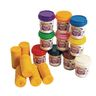 Garden Bug Stamper Rollers and 10 Colors of Play Dough