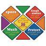 EZ Stick™ Safety First Floor and Wall Decals