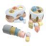 Eco-Friendly Baby Toy Set, 19 Pieces