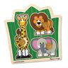 Jumbo Knob Puzzles - Jungle Friends