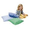 """Soft Pillows, 17"""" sq. - Contemporary, Set of 3"""