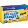 """9"""" X 6"""" Mini Magnetic Dry Erase Boards With Markers - Set Of 36"""