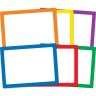 Dry Erase Boards - Set Of 6 - 6 Colors