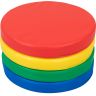Round Cushions  Set Of 4 - 4 Colors