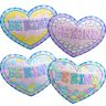 Candy Heart Ready-To-Decorate® Jumbo Garland - 24 posters