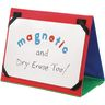 """Write Again® 18"""" X 12"""" Magnetic Dry Erase Board, Magnetic Letters, And Desktop Stand - 1 stand, 1 board, 137 letters"""