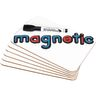 """9"""" X 6"""" Mini-Magnetic Dry Erase Boards - Set Of 12 Boards and 12 Markers"""
