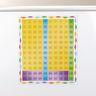 Jumbo Magnetic Chart  120 Grid - 1 grid, 24 squares