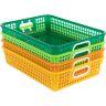 Classroom Paper Baskets - Citrus - Set Of 4