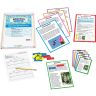 Comprehension Literacy Centers™ - Grades K-3 - 12 literacy centers, 1 rack