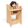 Environments® Wooden Doll Highchair