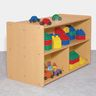"30"" High Dual-Sided Storage, Maple Laminate"