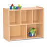 "30"" Compact 5-Compartment Storage, Maple Laminate"