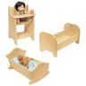Environments® Wooden Doll Furniture Set