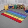 Seating Rows Value Rug - Rectangle Small