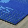 """Stand & Wait to Sanitize Rug - 3' x 4'6"""", Blue"""
