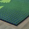 """Stand and Wait Rug - 3' x 4'6"""", Green"""